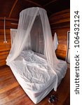 mosquito net on the bed in thai ... | Shutterstock . vector #106432124