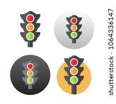 traffic light icon | Shutterstock .eps vector #1064336147