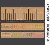 color gradient metric vector... | Shutterstock .eps vector #1064343575