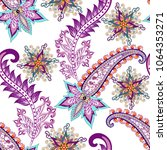 seamless pattern with... | Shutterstock .eps vector #1064353271