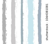 paint stripe seamless pattern.... | Shutterstock .eps vector #1064381081
