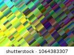 light green  yellow vector... | Shutterstock .eps vector #1064383307