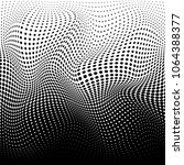 abstract halftone texture.... | Shutterstock .eps vector #1064388377