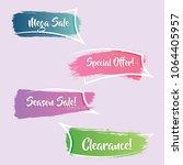 modern gradient promotion... | Shutterstock .eps vector #1064405957
