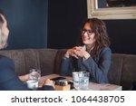 female leadership business...   Shutterstock . vector #1064438705