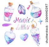 collection of four magic...   Shutterstock . vector #1064440397