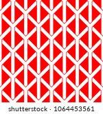 seamless geometric vector... | Shutterstock .eps vector #1064453561