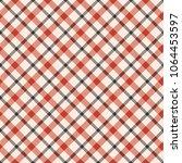 seamless tartan vector pattern | Shutterstock .eps vector #1064453597