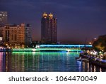 the love river in downtown...   Shutterstock . vector #1064470049