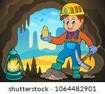 miner theme image 4   eps10... | Shutterstock .eps vector #1064482901