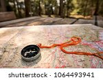 make the geographical point... | Shutterstock . vector #1064493941