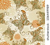 Vector Seamless Pattern With  ...