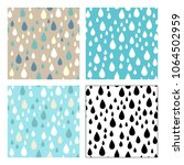 vector seamless patterns of...   Shutterstock .eps vector #1064502959
