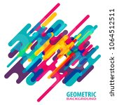 minimalistic motion design... | Shutterstock .eps vector #1064512511