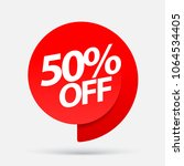 sale of special offers.... | Shutterstock .eps vector #1064534405
