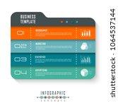 vector infographics template...   Shutterstock .eps vector #1064537144