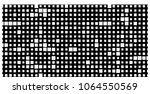 black and white abstract vector ... | Shutterstock .eps vector #1064550569