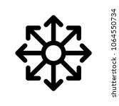 multi channel icon  vector... | Shutterstock .eps vector #1064550734