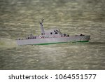 Model Of The Military Boat In...