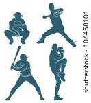 Baseball Positions   Vector...
