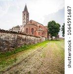 staffarda  piedmont  italy  ... | Shutterstock . vector #1064591687