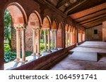 staffarda  piedmont  italy  ... | Shutterstock . vector #1064591741