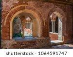 staffarda  piedmont  italy  ... | Shutterstock . vector #1064591747