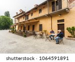 staffarda  piedmont  italy  ... | Shutterstock . vector #1064591891