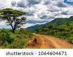 remote rural area near siracho...   Shutterstock . vector #1064604671