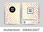 light orange vector template... | Shutterstock .eps vector #1064612627
