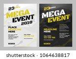 vector layout design template... | Shutterstock .eps vector #1064638817