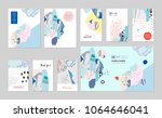 collection of creative... | Shutterstock .eps vector #1064646041