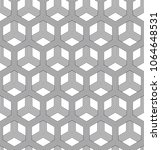 vector seamless geometric... | Shutterstock .eps vector #1064648531