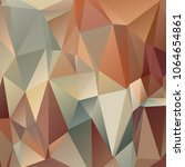 abstract polygonal mosaic... | Shutterstock .eps vector #1064654861