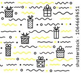 seamless geometric pattern with ...   Shutterstock .eps vector #1064669651