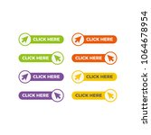 set of click here buttons with... | Shutterstock .eps vector #1064678954