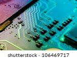 circuit board of laptop | Shutterstock . vector #106469717