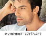 side profile view closeup... | Shutterstock . vector #106471349