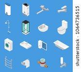 sanitary engineering including...   Shutterstock .eps vector #1064736515
