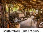 fishing equipment and kitchen...   Shutterstock . vector #1064754329