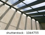 skylight and supporting wall | Shutterstock . vector #1064755