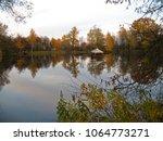 Autumn Landscape. Evening Lake...