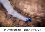 a view from the air blurred of... | Shutterstock . vector #1064794724