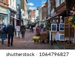 hastings  uk   april 5th  2018  ... | Shutterstock . vector #1064796827