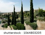 jerusalem  israel. view of the... | Shutterstock . vector #1064803205