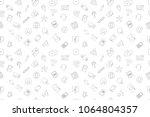 vector communication pattern....   Shutterstock .eps vector #1064804357