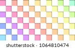 table rainbow pastel and white | Shutterstock .eps vector #1064810474
