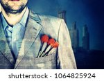 business man background   Shutterstock . vector #1064825924