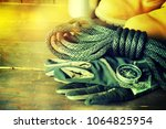 travel accessories background   Shutterstock . vector #1064825954
