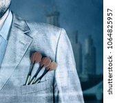 business man background   Shutterstock . vector #1064825957
